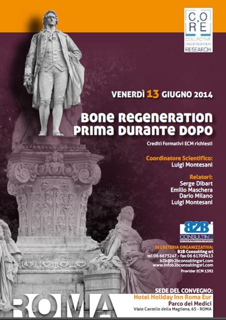 Bone regeneration prima durante dopo – Corso Roma