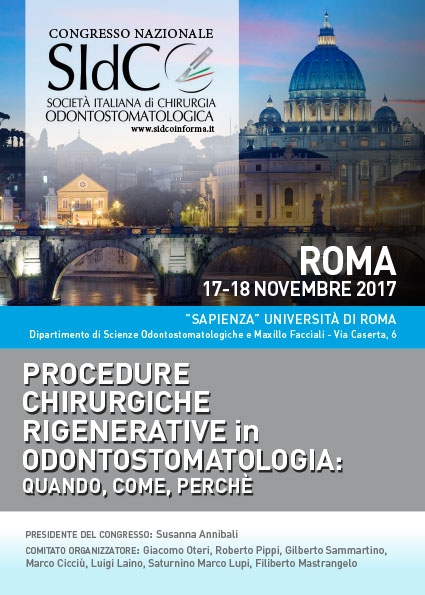SIDCO – PROCEDURE CHIRURGICHE RIGENERATIVE in ODONTOSTOMATOLOGIA