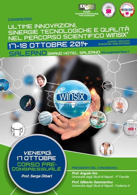 Ultime innovazioni, sinergie tecnologiche e qualità nel percorso scientifico WINSIX
