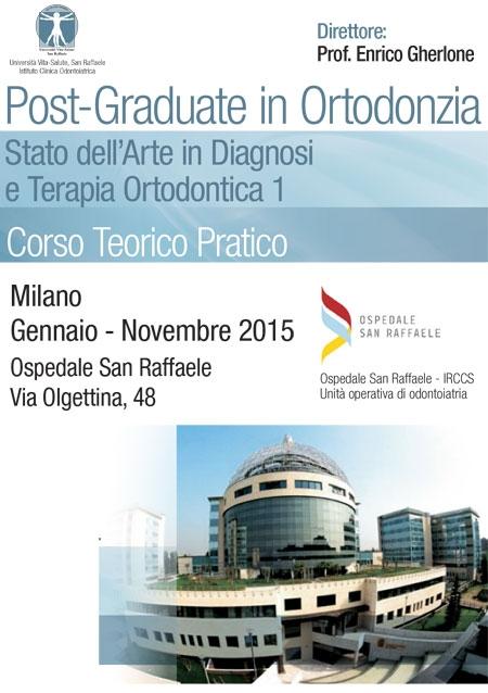 Post Graduate in Ortodonzia