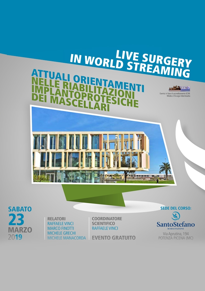 Corso Live Surgery in world streaming