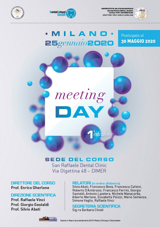 Meeting Day – Posticipato
