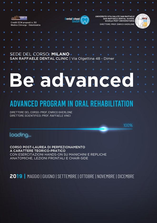 Corso Advanced Program in Oral Rehabilitation