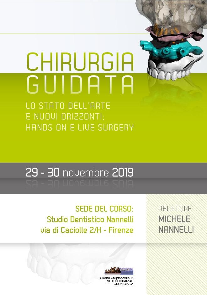 Corso Chirurgia Guidata – Firenze 29-30 Novembre 2019