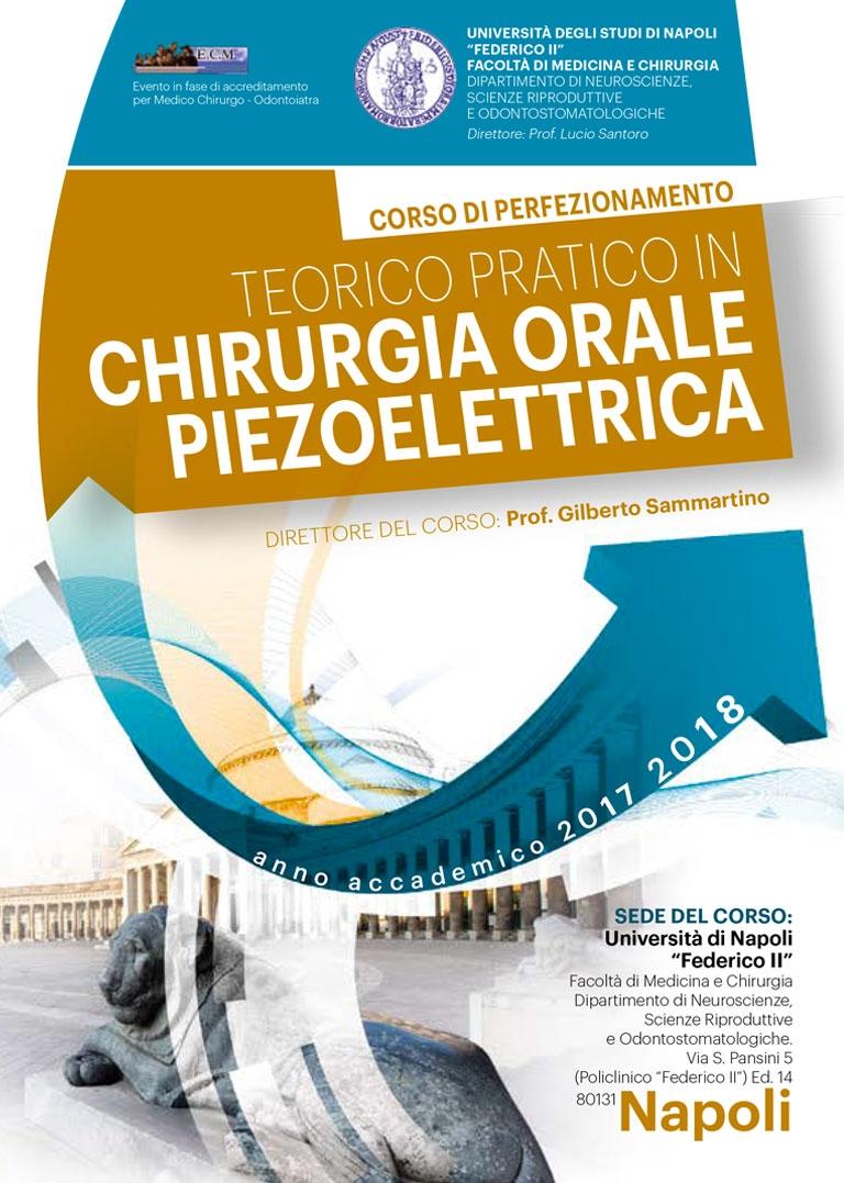 CORSO PERFEZIONAMENTO IN CHIRURGIA ORALE PIEZOELETTRICA – NAPOLI