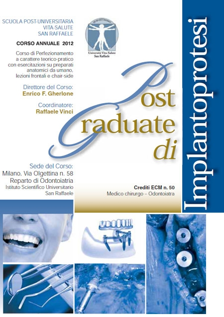 Post Graduate di Implantoprotesi