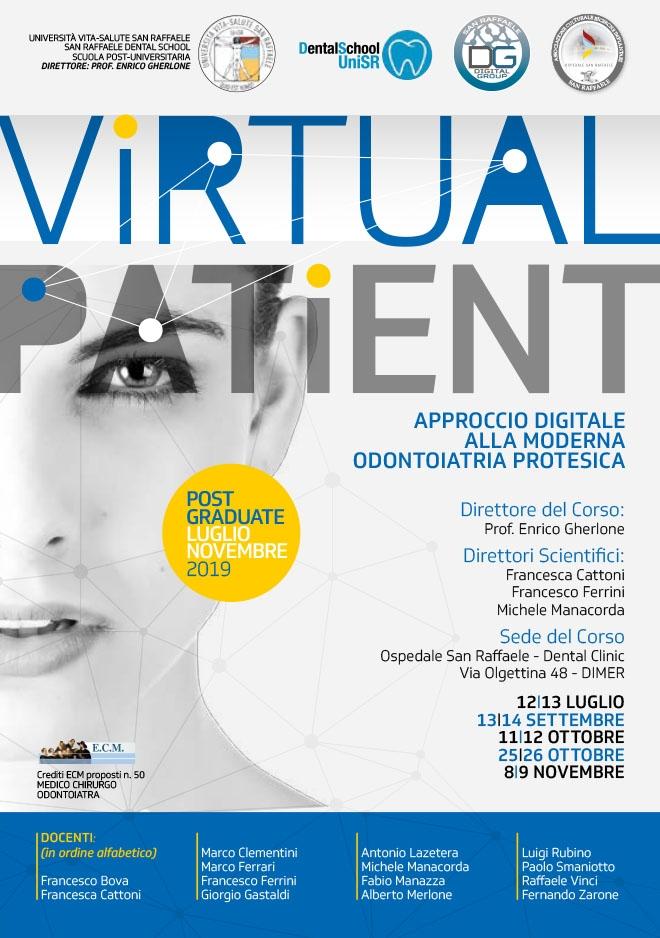 Corso Virtual Patient  Annuale 2019 – Milano