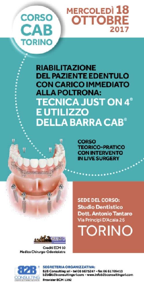 CORSO CAB 18 OTTOBRE 2017