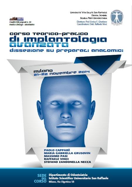 Corso teorico-pratico di Implantologia Avanzata Milano