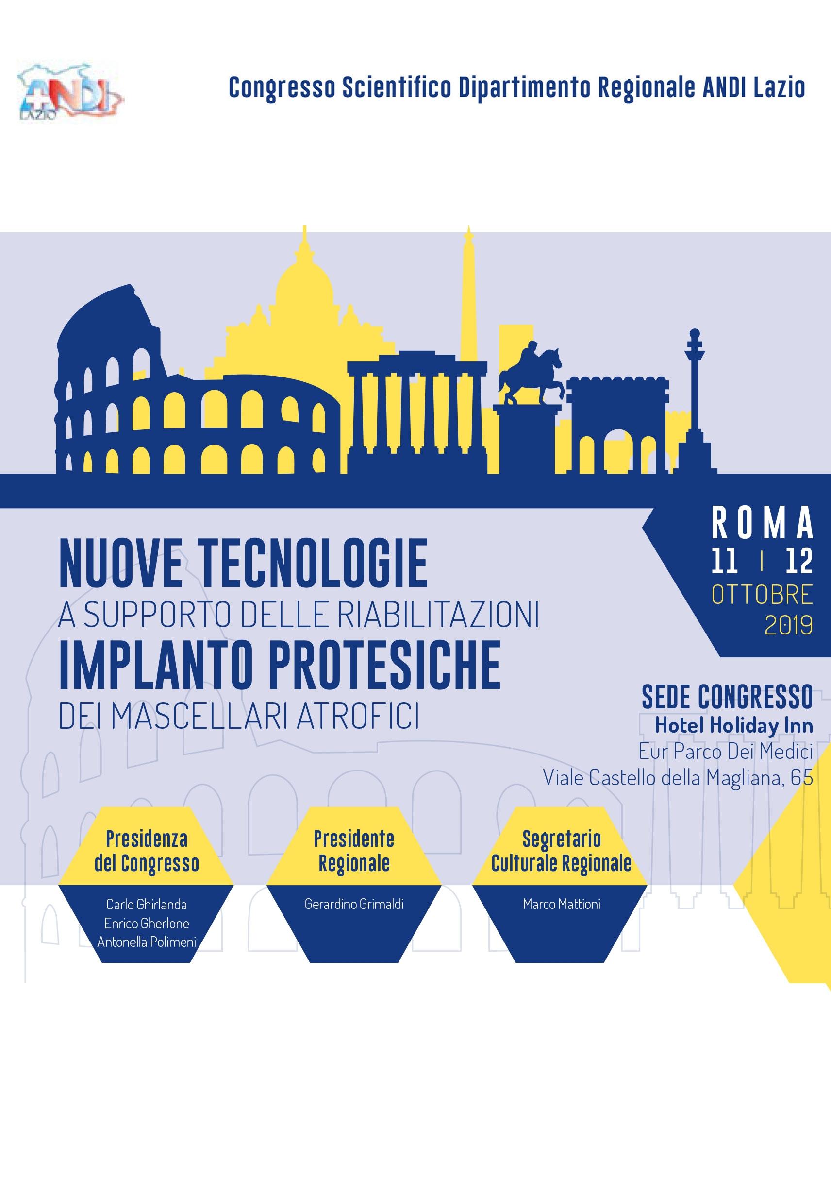Congresso ANDI Lazio – Roma, 11-12 Ottobre 2019