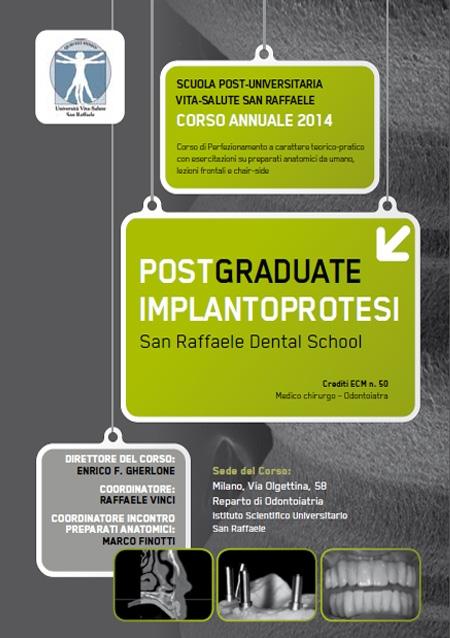 Post Graduate Implantoprotesi 2014