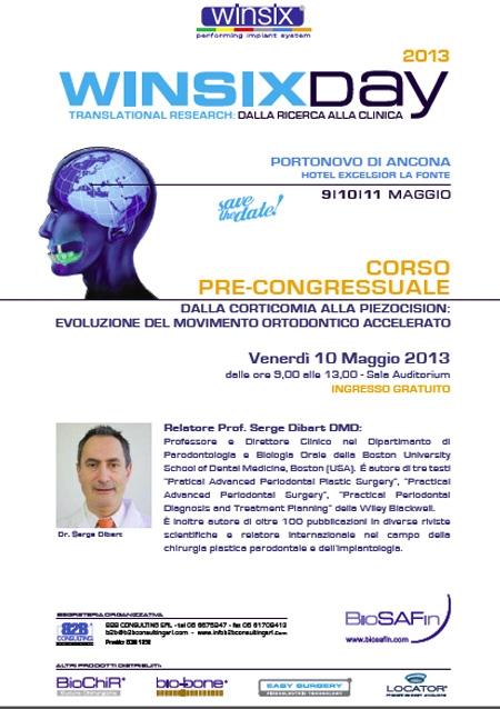 WINSIX – Corso Pre Congressuale