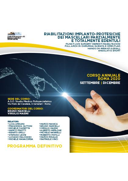 Corso annuale Cerveteri (RM) 2020