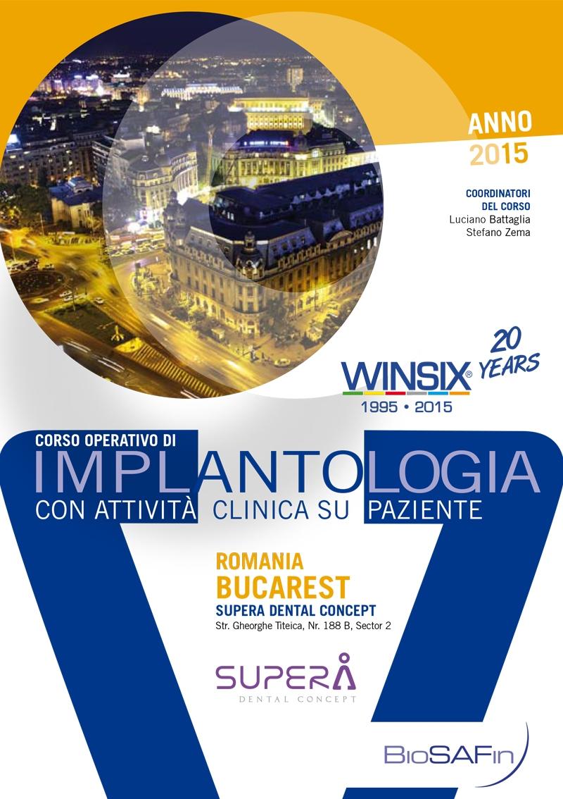 Corso Operativo di Implantologia con attività clinica su paziente – Romania
