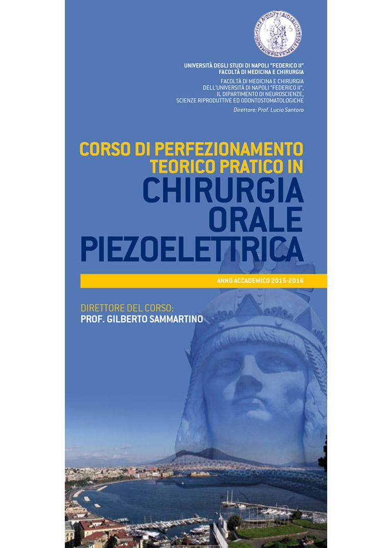 CORSO DI PERFEZIONAMENTO CHIRURGIA ORALE PIEZOELETTRICA – NAPOLI