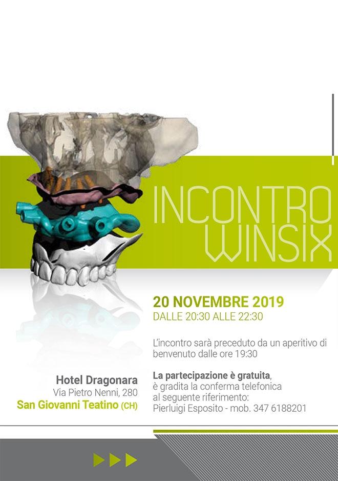 Incontro WINSIX – Chieti, 20 Novembre 2019