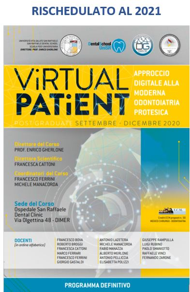 Virtual Patient – Approccio digitale alla moderna odontoiatria protesica