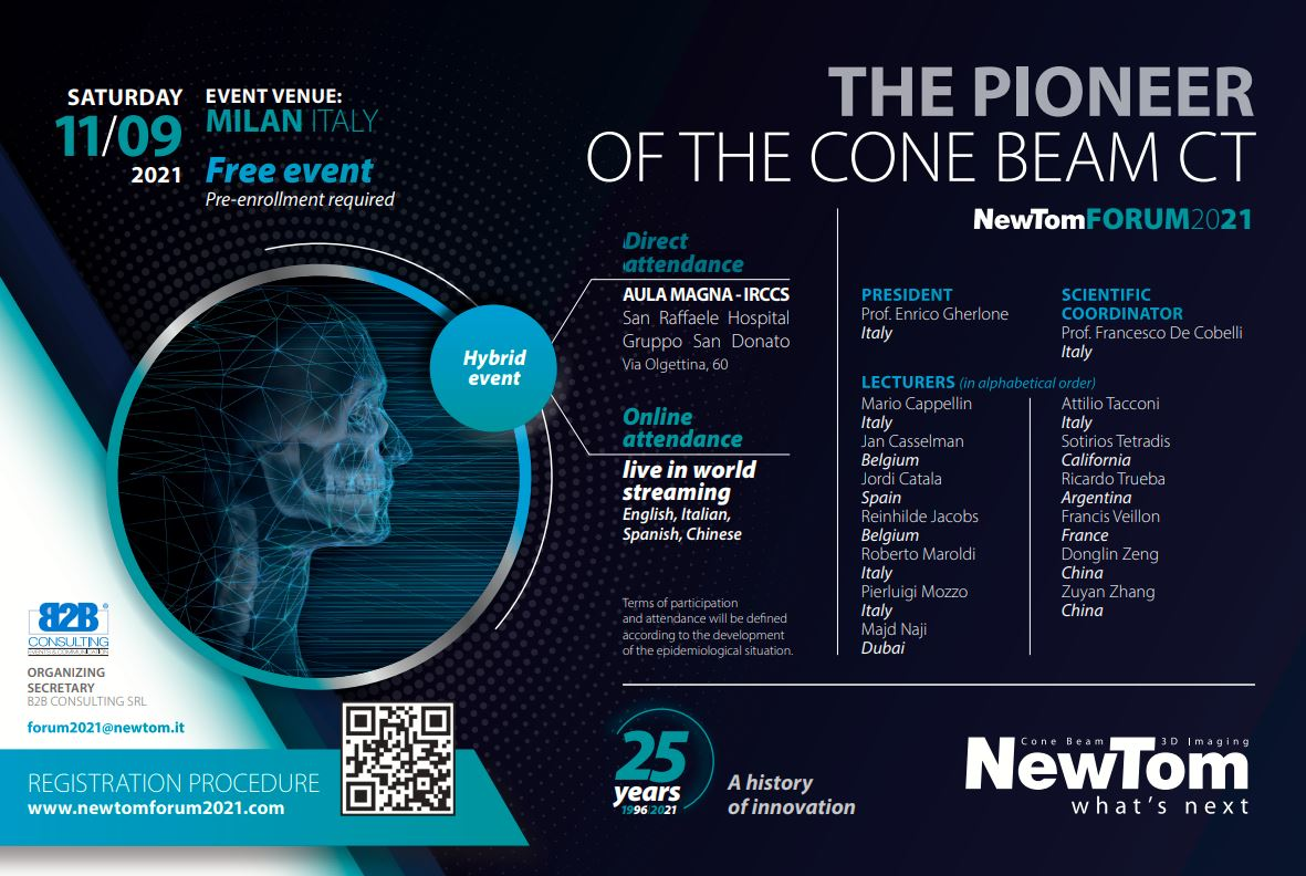 The Pioneer of the Cone Beam CT NewTom Forum2021